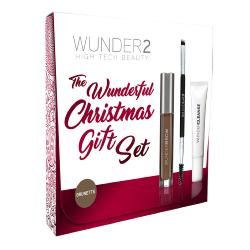 KIT WUNDERBROW BRUNETTE<br />Gels à sourcils et crayon