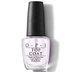 TOP COAT OPI 15ml<br />Incolore, résultat brillant