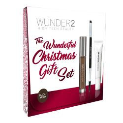 KIT WUNDERBROW  BLACK/BROWN<br />Pour des sourcils au top