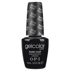 BASE COAT GELCOLOR<br />Base protectrice transparente